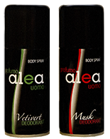 Alea body spray for man
